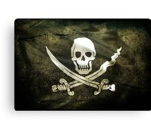 Pirate Flag Canvas Print