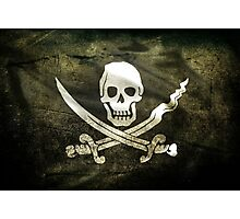 Pirate Flag Photographic Print