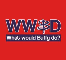 What would Buffy do? One Piece - Short Sleeve