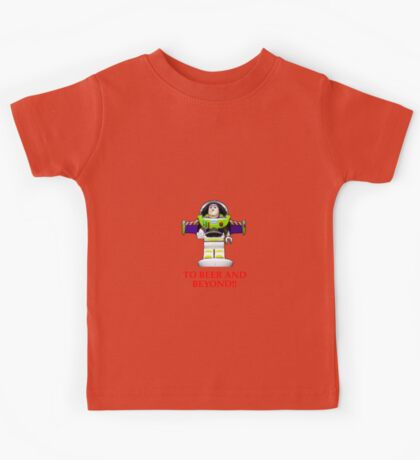 BUZZ ,TO BEER AND BEYOND! Kids Tee