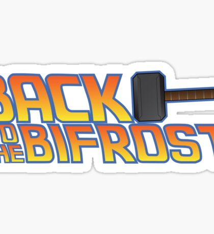 Back to the Bifrost Sticker