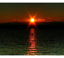 """Starry-Eyed"" Sunset Photographic Print"