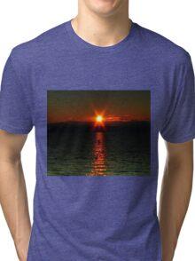"""""""Starry-Eyed"""" Sunset Tri-blend T-Shirt"""