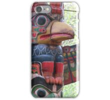 Bird totem pole iPhone Case/Skin
