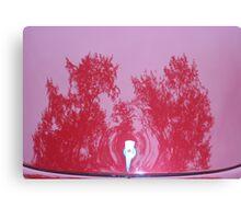 Street Rod Art: Red Trees Canvas Print
