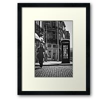The Dying Telephone Booth Framed Print