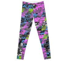 TOXIC SLUDGE Nintendo Glitch Leggings