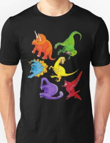 Colourful Dinos! Unisex T-Shirt