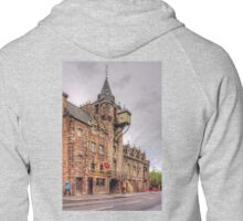 Tolbooth at the Canongate Zipped Hoodie
