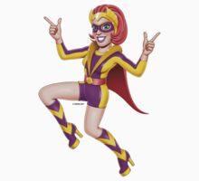 Superheroes - Retro Princess by GerbArt