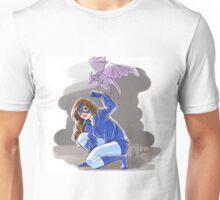 Kneeling Cat Unisex T-Shirt