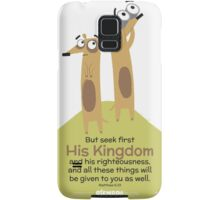 Matthew 6:33 Samsung Galaxy Case/Skin