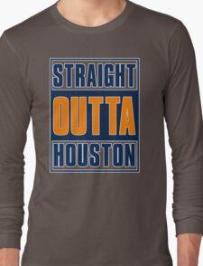 STRAIGHT OUT OF HOUSTON - Baseball T-Shirt