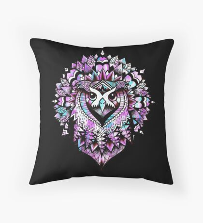 Owl. Throw Pillow