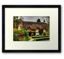 Cottage by the Thornton Beck Framed Print