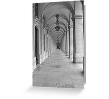Arches - Lisbon Greeting Card
