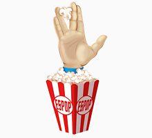 Spock ft Popcorn Unisex T-Shirt