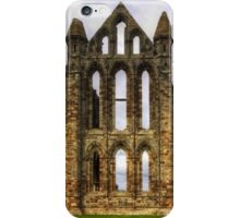 Whitby Abbey Remains iPhone Case/Skin