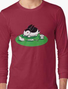 """Bunnicula"" - Veggie Vampire Long Sleeve T-Shirt"