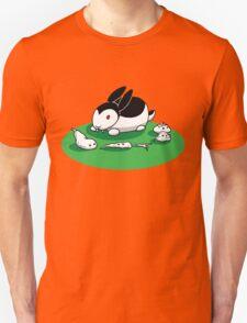"""""""Bunnicula"""" - Veggie Vampire Unisex T-Shirt"""