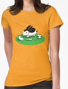 """""""Bunnicula"""" - Veggie Vampire Womens Fitted T-Shirt"""