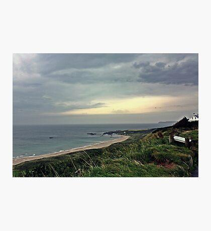 Deserted Beach Photographic Print