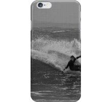 Black & White Cutback iPhone Case/Skin