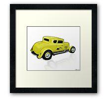 Yellow Menance Framed Print