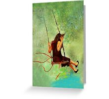 The Swings  Greeting Card