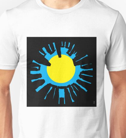 STONEHENGE ROUND Unisex T-Shirt