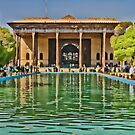 Upon Reflection - Chehel Sotoun - 40 Columns Palace - Esfahan - Iran by Bryan Freeman