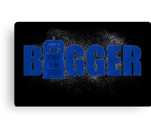 Bigger on the inside constallations Canvas Print