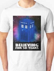DR WHO BELIEVING T-Shirt