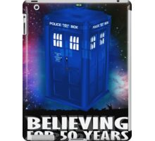 DR WHO BELIEVING iPad Case/Skin