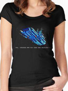 Turrican - Battle Cruiser Women's Fitted Scoop T-Shirt