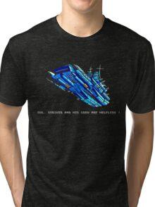 Turrican - Battle Cruiser Tri-blend T-Shirt