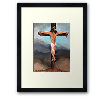 Christ, Beyond the Rapture Framed Print