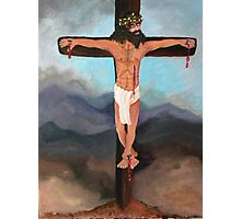 Christ, Beyond the Rapture Photographic Print
