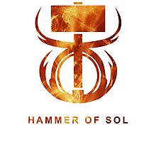 Destiny - Hammer of Sol Photographic Print