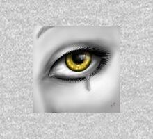 Yellow Eye Crying Unisex T-Shirt