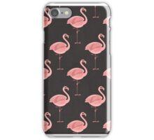 Pink Flamingo Pattern iPhone Case/Skin