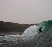 Cold dark and barrelling by Paudie Scanlon