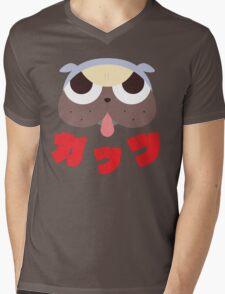GUTS! Mens V-Neck T-Shirt