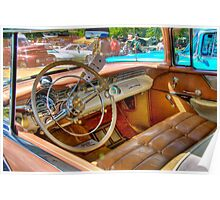 Two-Toned Pontiac-Interior Poster