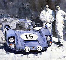 Porsche 906 Daytona 1966 Herrmann-Linge by Yuriy Shevchuk