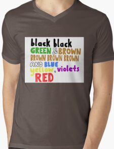 Colours - Grouplove Mens V-Neck T-Shirt