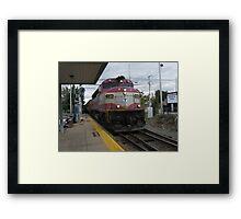 1129 MBTA Commuter Rail Framed Print