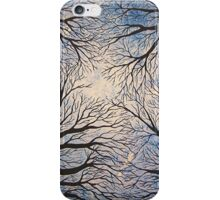 Looking Up, Acrylic on Canvas Painting iPhone Case/Skin