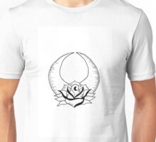 Moon and Rose Unisex T-Shirt