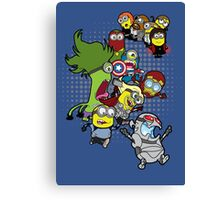Minvengers Age of Mintron Canvas Print